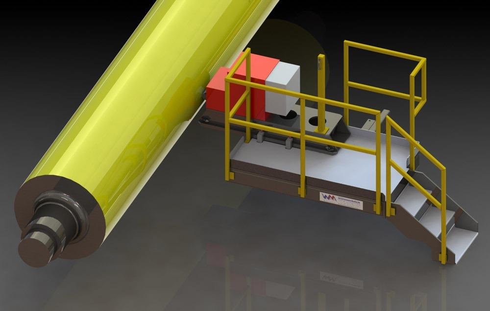Schlittenverlängerung/Schleifmaschine