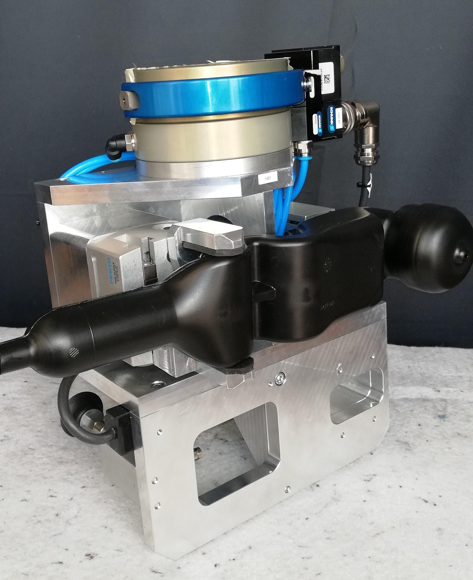 Robotik: Doppel-Siphon-Greifer