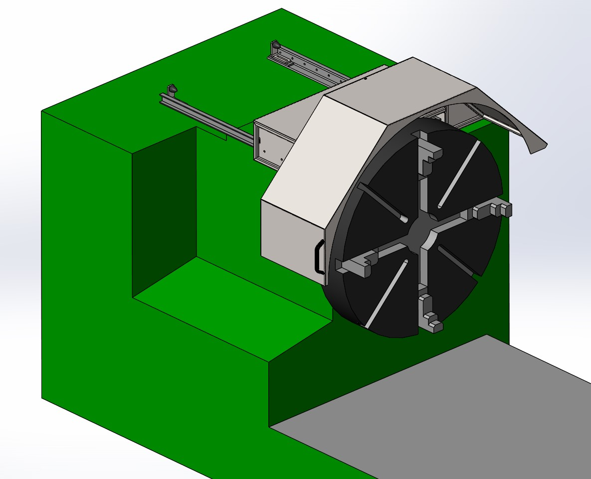 Drehfutterabdeckung/Konstruktion