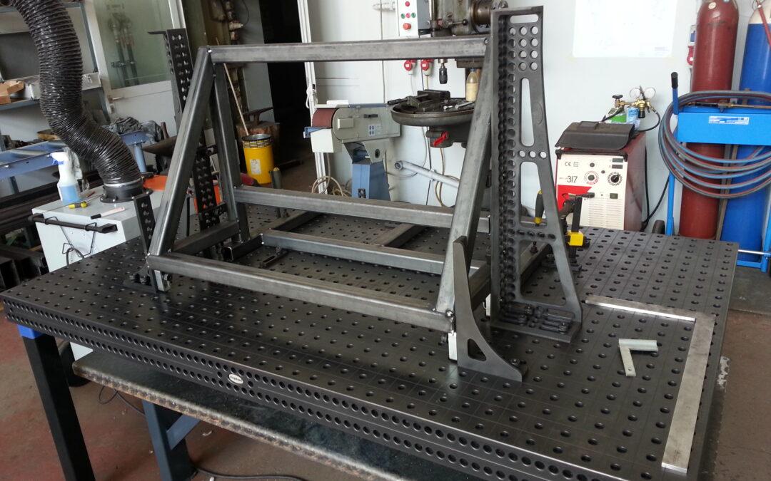 Teilefertigung | Neuer Schweißtisch