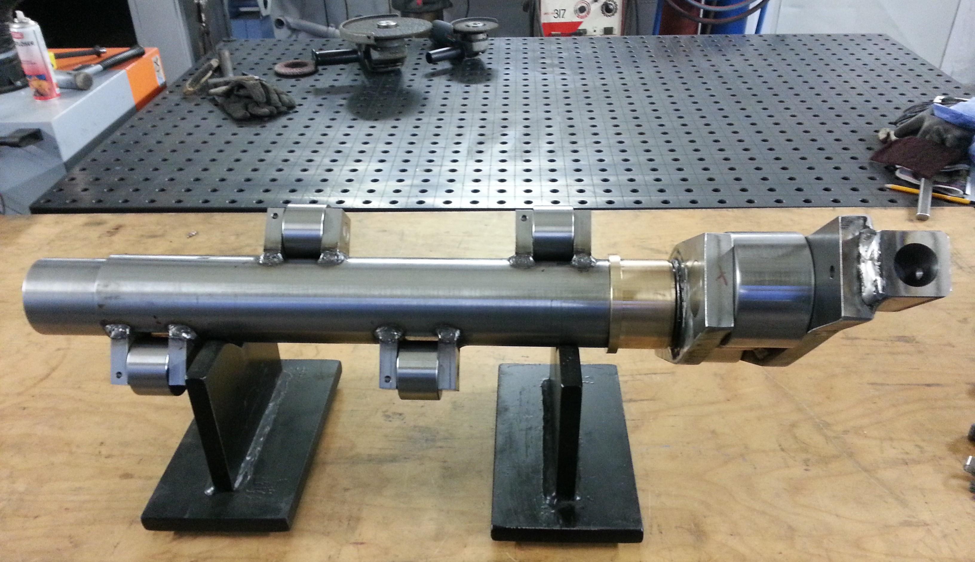 Ventilsteuerwelle/Hydraulikpresse