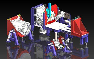 Werkzeug-Rüsttisch für weltgrößte mechanische Fließpresse