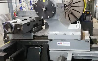 Plandrehmaschine/Reitstock
