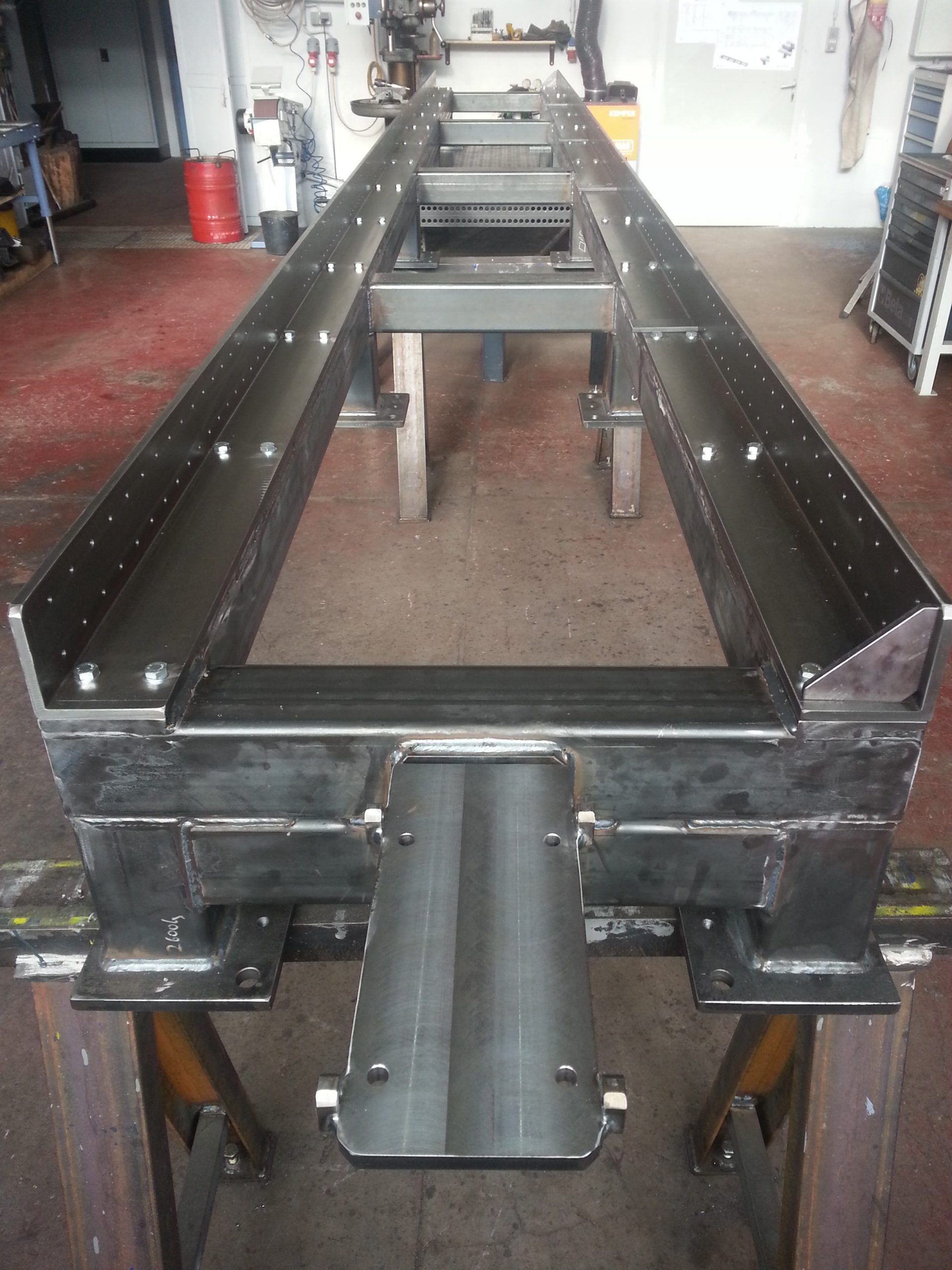 test bench for acceleration