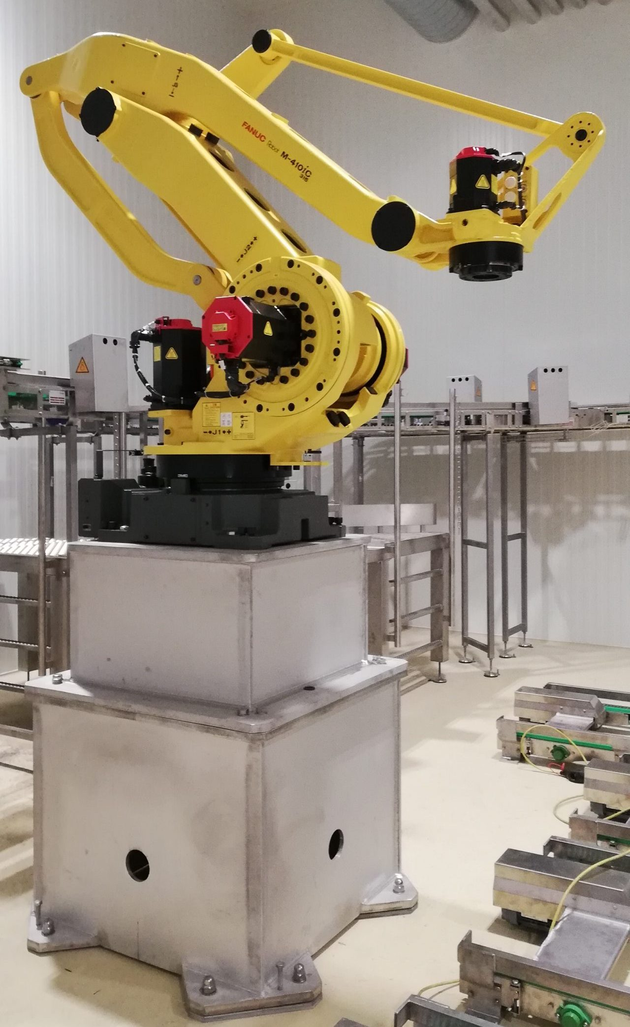 robot base (food processing)