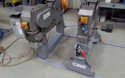 Lineargeführte Rollböcke zum effizienten Stangen-Finshing